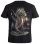 Mobile Preview: Biker T-Shirt Drache