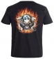 Mobile Preview: Biker T-Shirt Feuer Biker