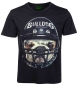 Preview: 3D T-Shirt Bulldogge Football mit Edelstahl Piercing