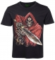 Preview: Skull T-Shirt Capeskull mit Tattooschwert