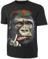 Preview: Gorilla T-Shirt Crazy  Punk Gorilla Gepierct