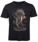 Preview: Kinder T-Shirt goldener Drache