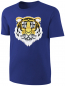 Preview: Kinder Wende Pailletten T-Shirt Tiger Streichel Shirt Blau
