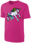 Mobile Preview: Mädchen T-Shirt Einhorn Pailletten Shirt Pink
