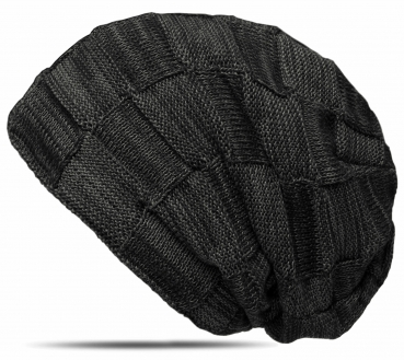 Beanie Winter Strick Mütze mit warmem Fleece