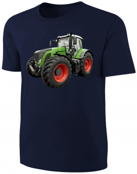 Traktor Kinder T-Shirt Schlepper Shirt Blau