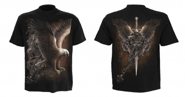 Spiral T-Shirt WINGS OF FREEDOM