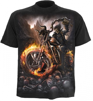 Spiral T-Shirt WHEELS OF FIRE