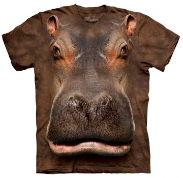 The Mountain T-Shirt Hippo Head