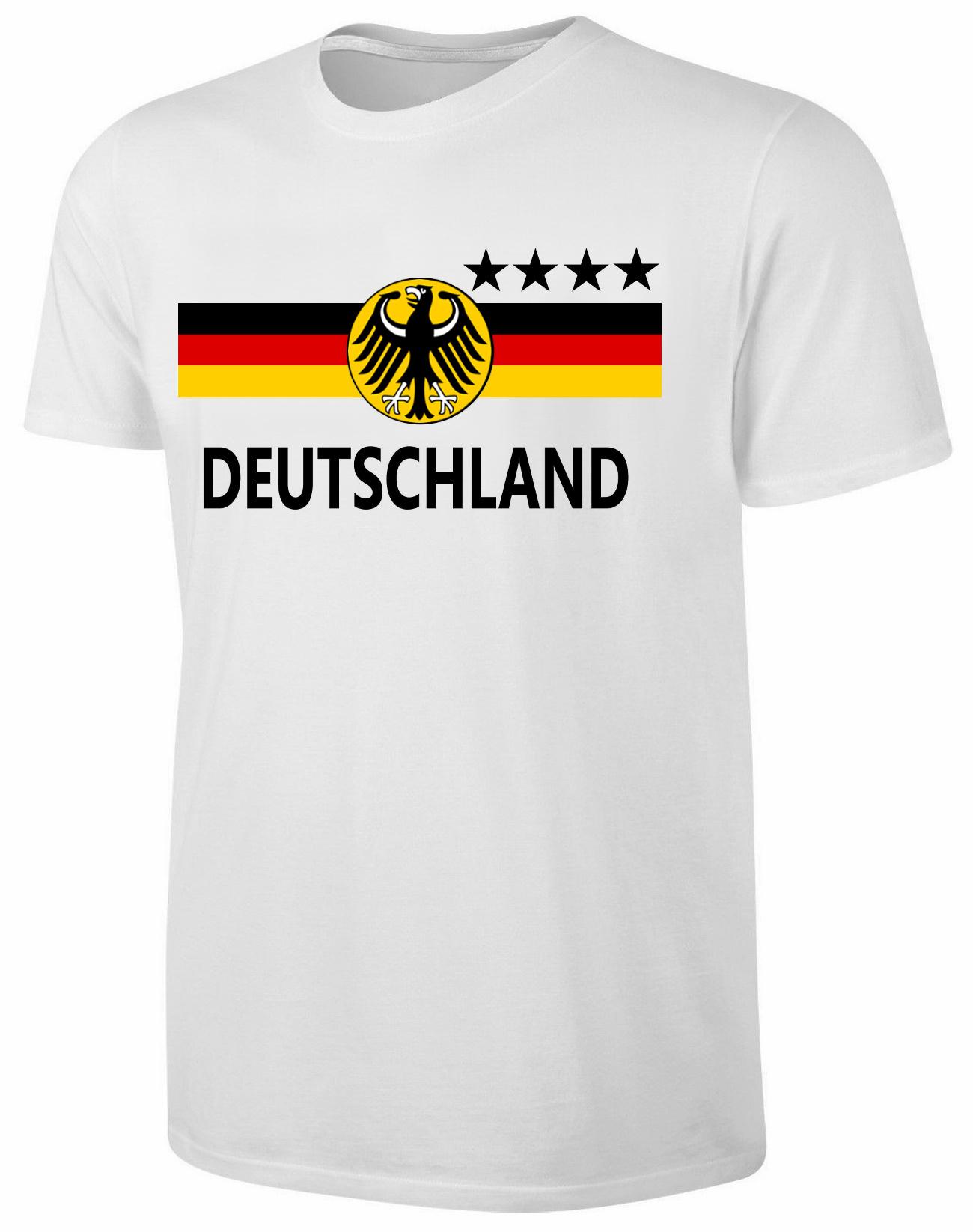 deutschland t shirt kinder fu ball fan shirt wei ebay. Black Bedroom Furniture Sets. Home Design Ideas