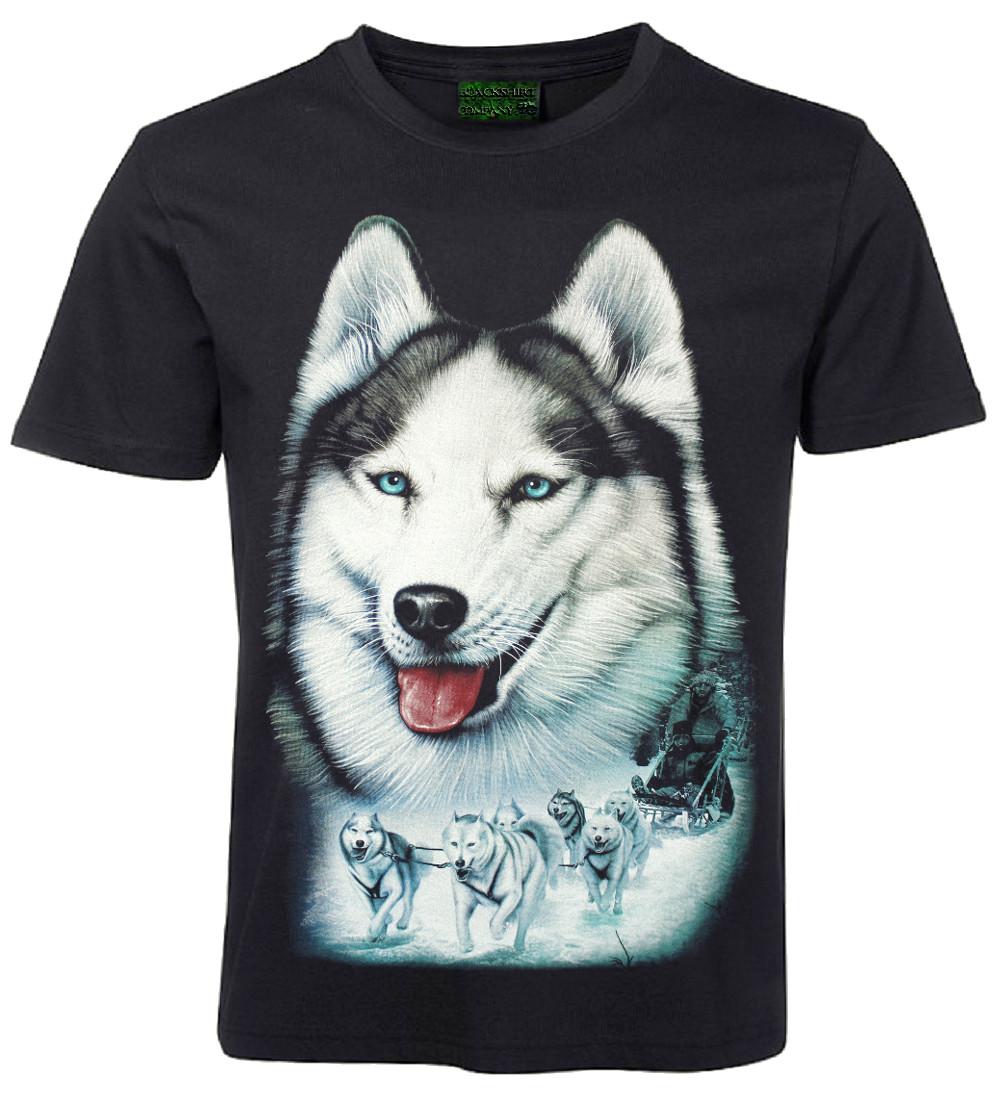 coole t shirts von blackshirt company husky. Black Bedroom Furniture Sets. Home Design Ideas