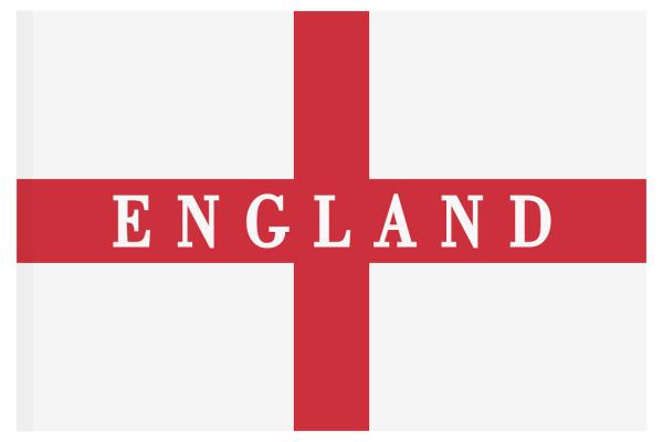 England Länder Fahne Flagge 150x90 Flag WM EM Hohlsaum Fussball #017
