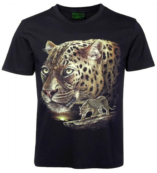 tiermotiv hd t shirt jaguar ebay. Black Bedroom Furniture Sets. Home Design Ideas