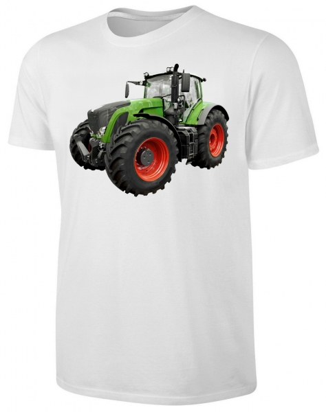 Traktor Kinder T-Shirt Schlepper Shirt Weiss