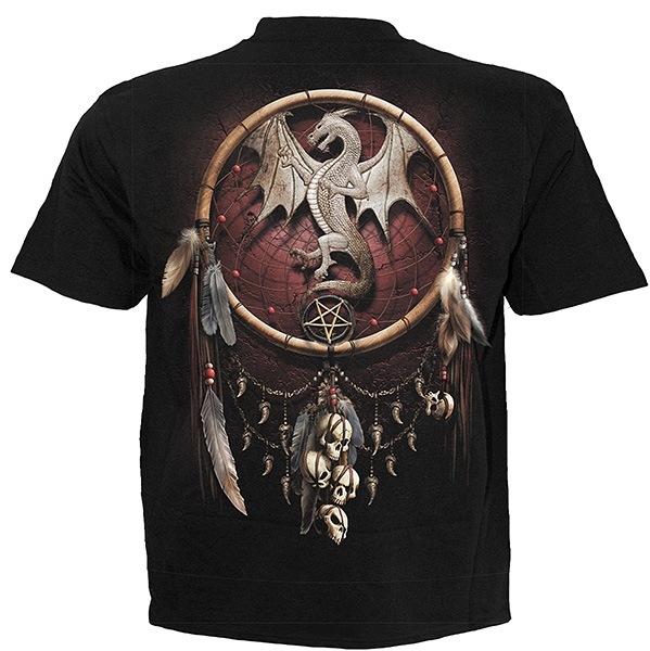 spiral t shirt dragon catcher ebay. Black Bedroom Furniture Sets. Home Design Ideas