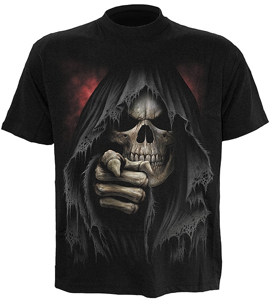 Spiral T-Shirt FINGER OF DEATH