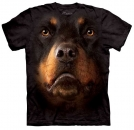 The Mountain T-Shirt Rottweiler Face